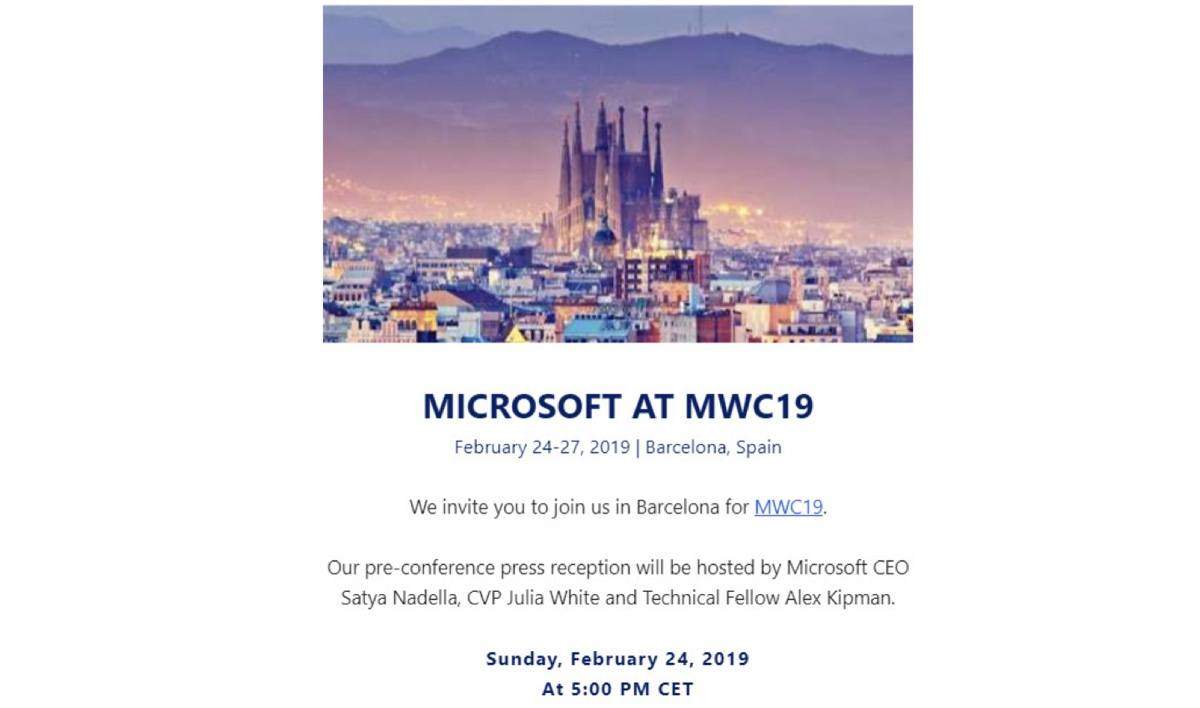 microsoft mwc 2019