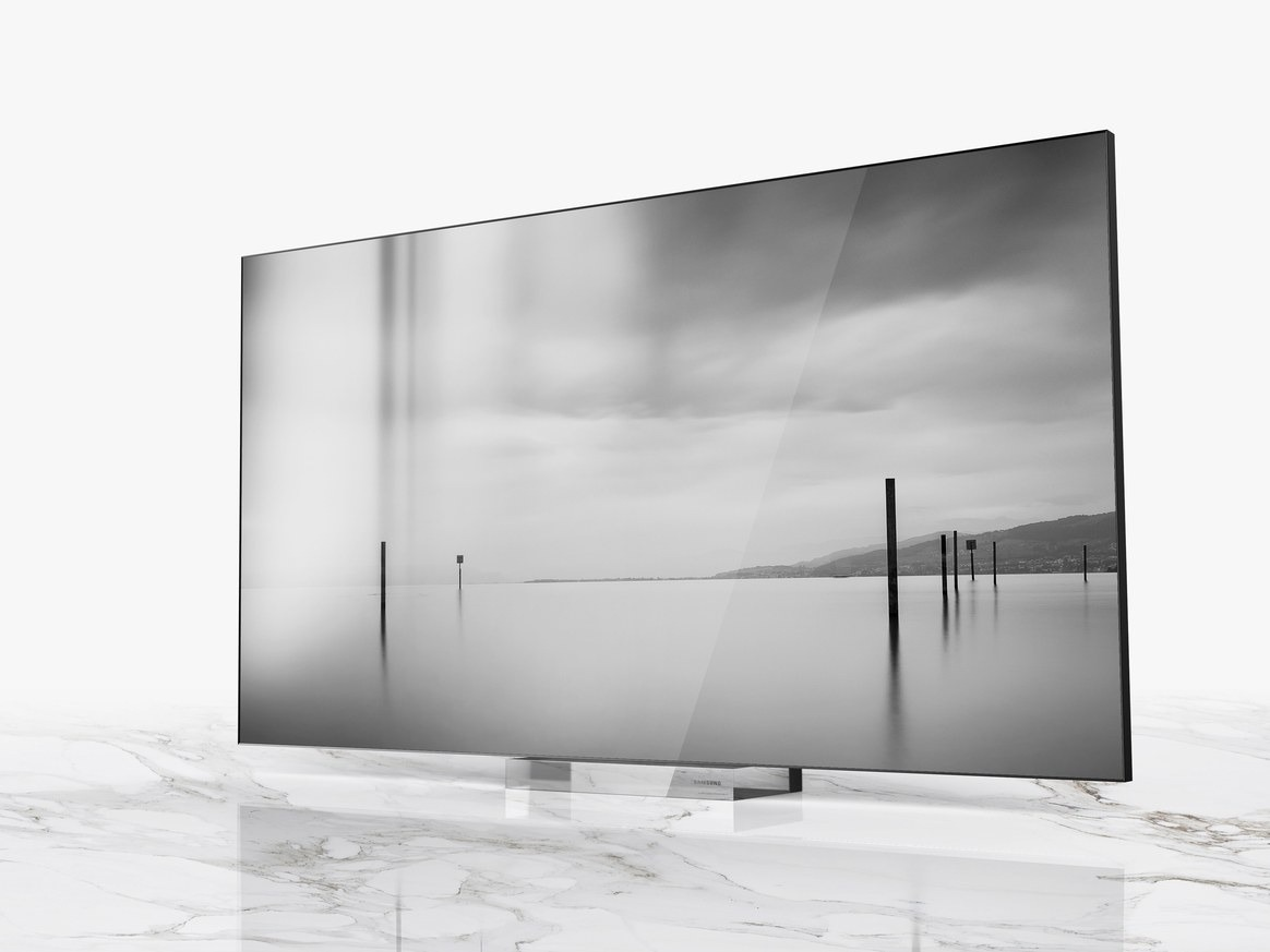 samsung 75 inç microled tv