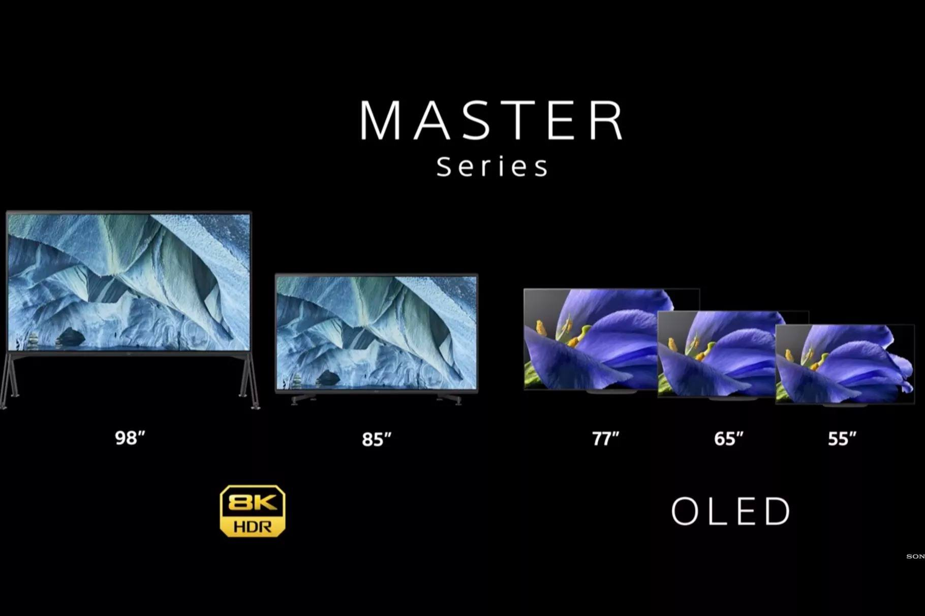 sony master series ces 2019