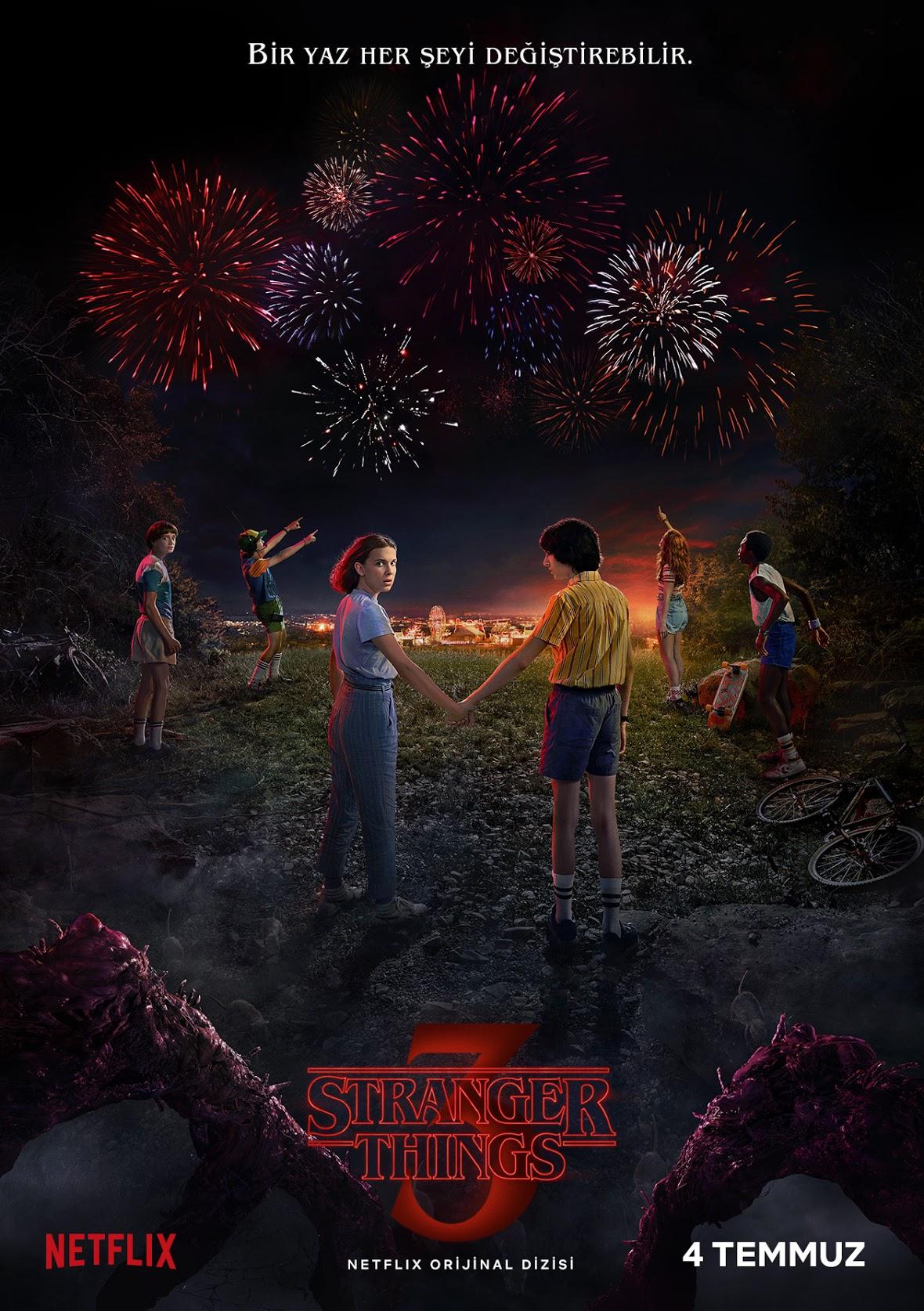 stranger things 3. sezon afişi