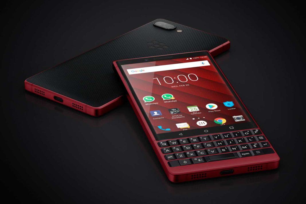 BlackBerry KEY2 kırmızı renk seçeneğiyle depolama alanını ikiye katlıyor