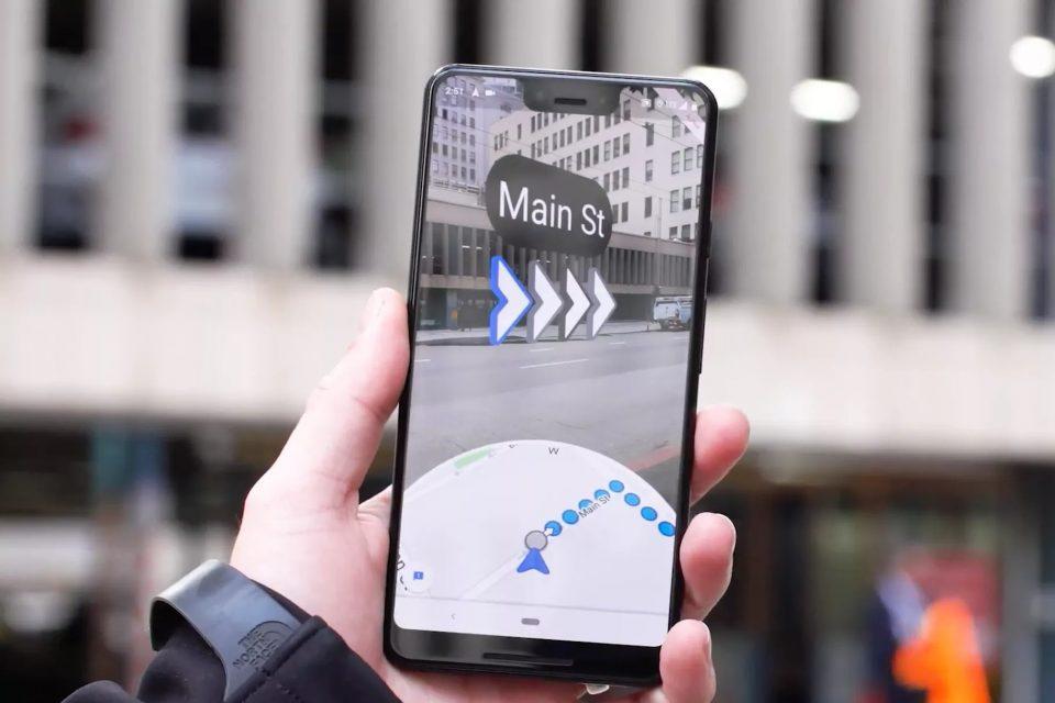 google haritalar ar kamera