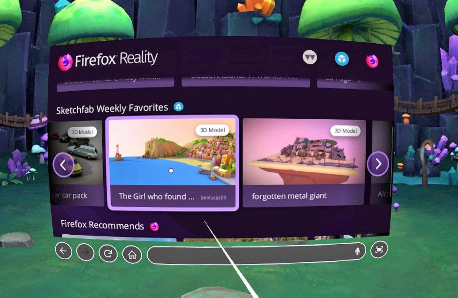 mozilla firefox reality
