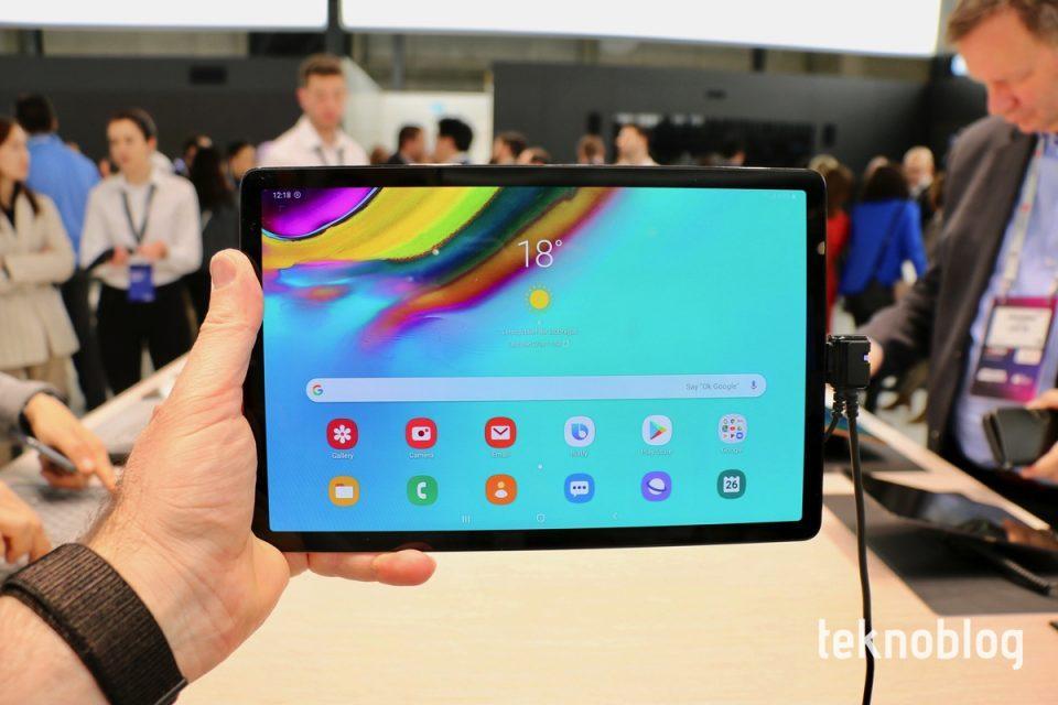Samsung Galaxy Tab S5e Ön İnceleme - Video