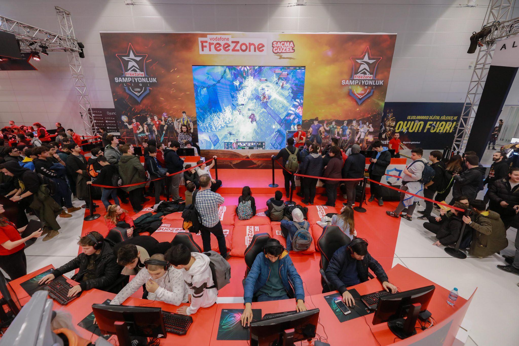 vodafone freezone gaming istanbul