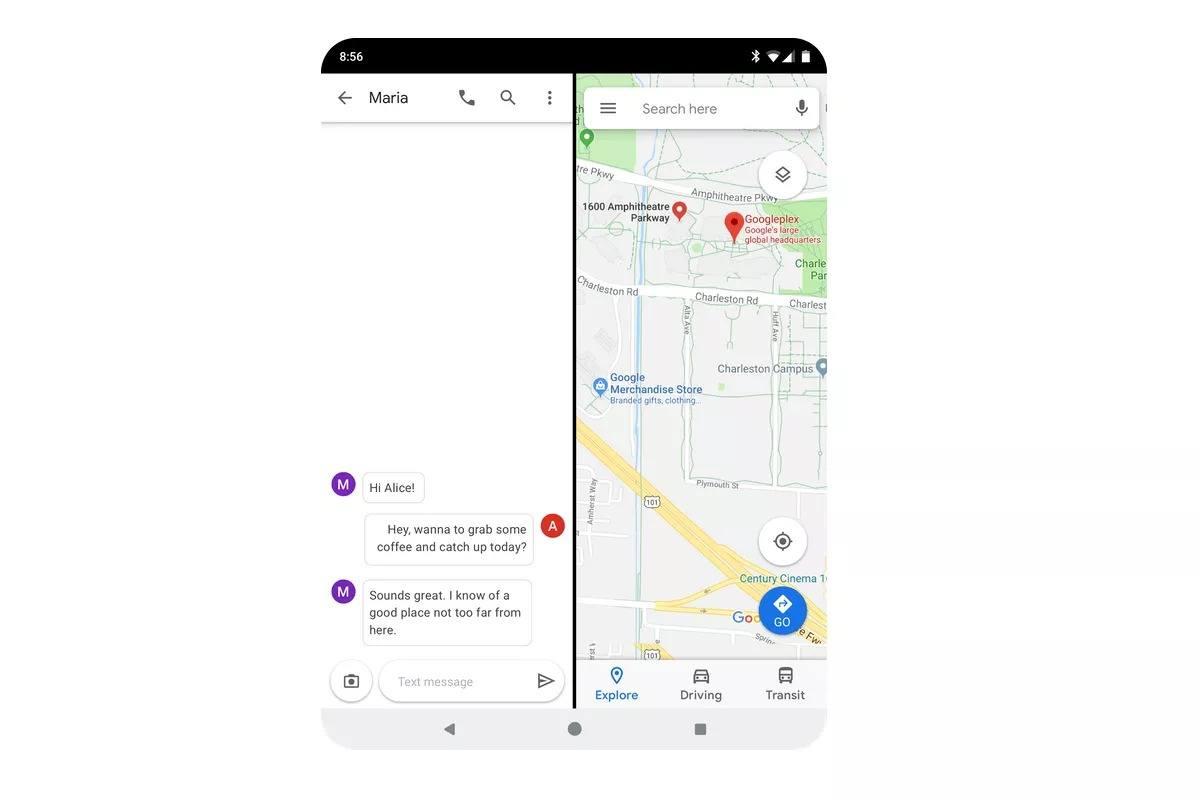 android q katlanabilir telefon