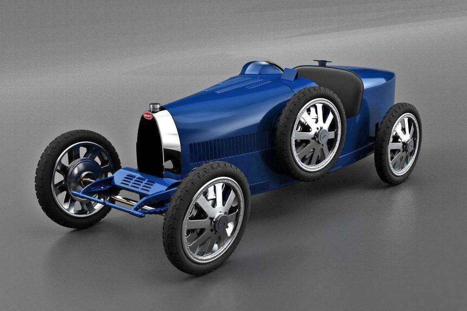 Bugatti Baby II ile köklerine geri dönüyor
