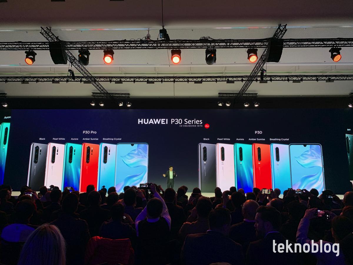 huawei p30 pro ve huawei p30 Türkiye fiyatları