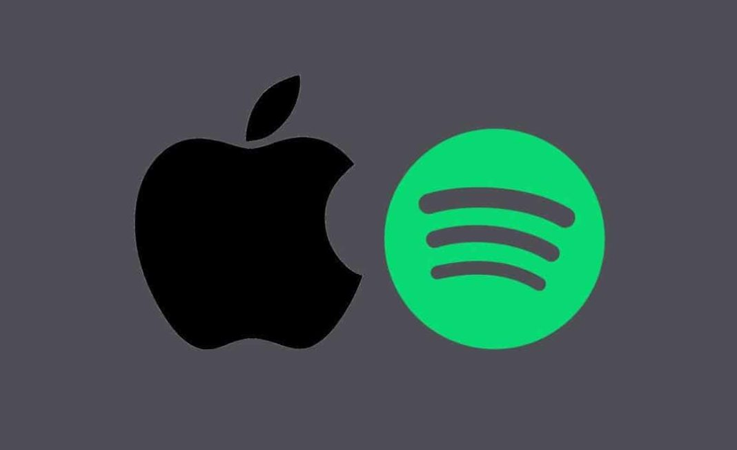 Spotify'dan Apple'a