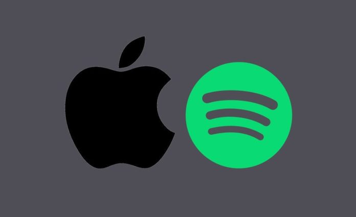 Spotify'dan Apple'a