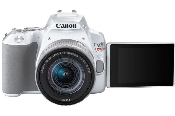 Canon EOS Rebel SL3 ile DSLR'ları küçültmeye devam ediyor