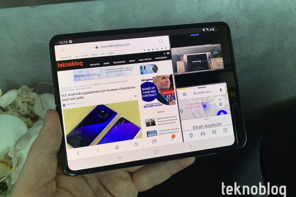 Samsung Galaxy Fold için bekleme süresi uzuyor