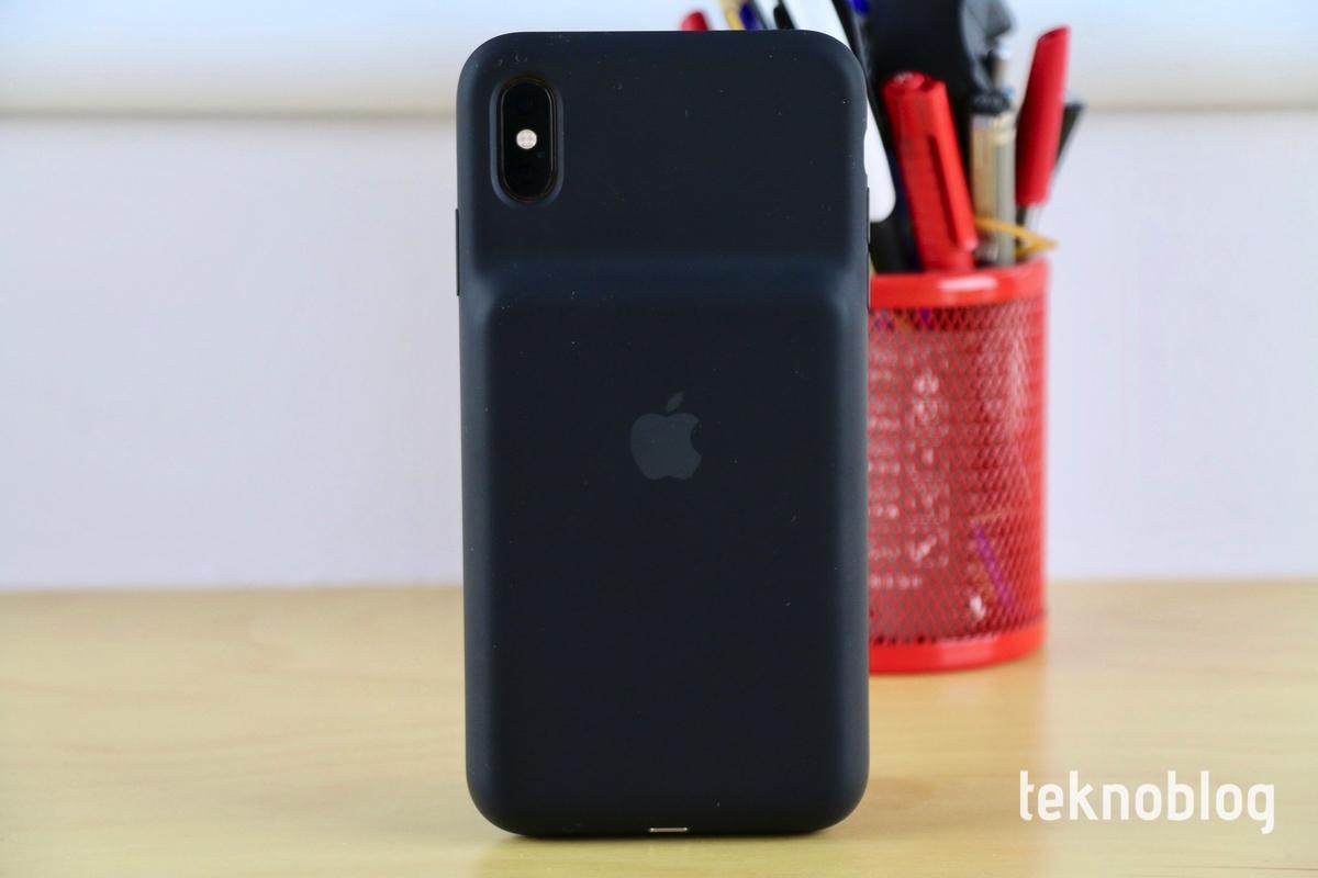 iphone xs max için smart battery case