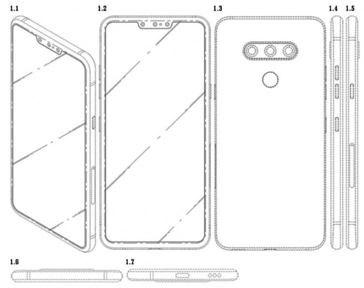 lg akıllı telefon patent