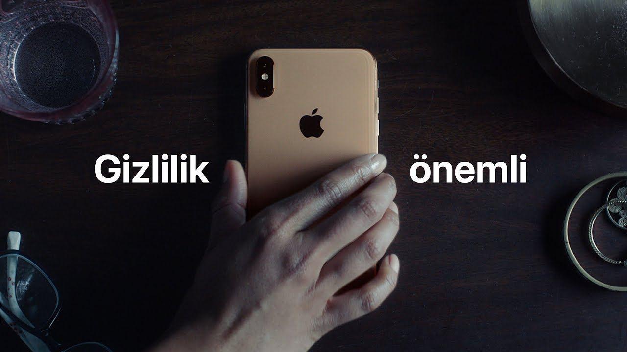 apple iphone gizlilik