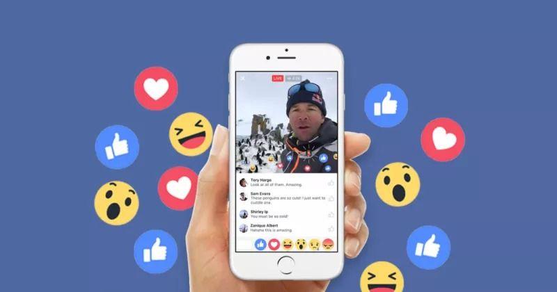facebook canli yayin