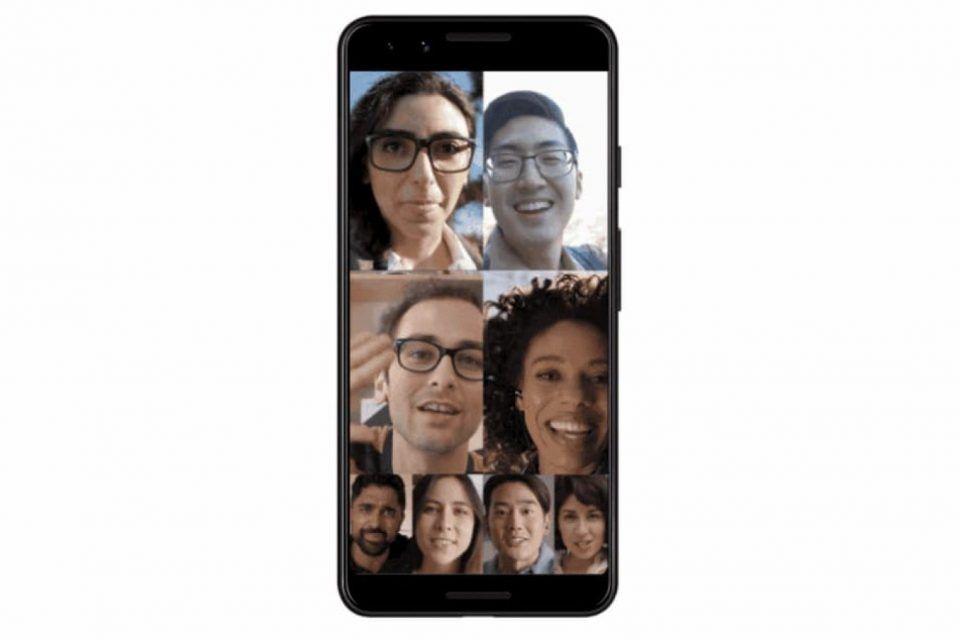 Google Duo'nun grup video sohbeti özelliği tüm kullanıcılara açılıyor