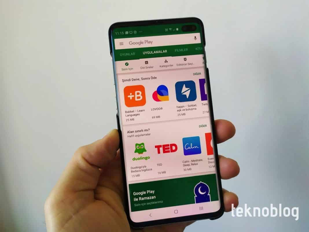 google play pass android store