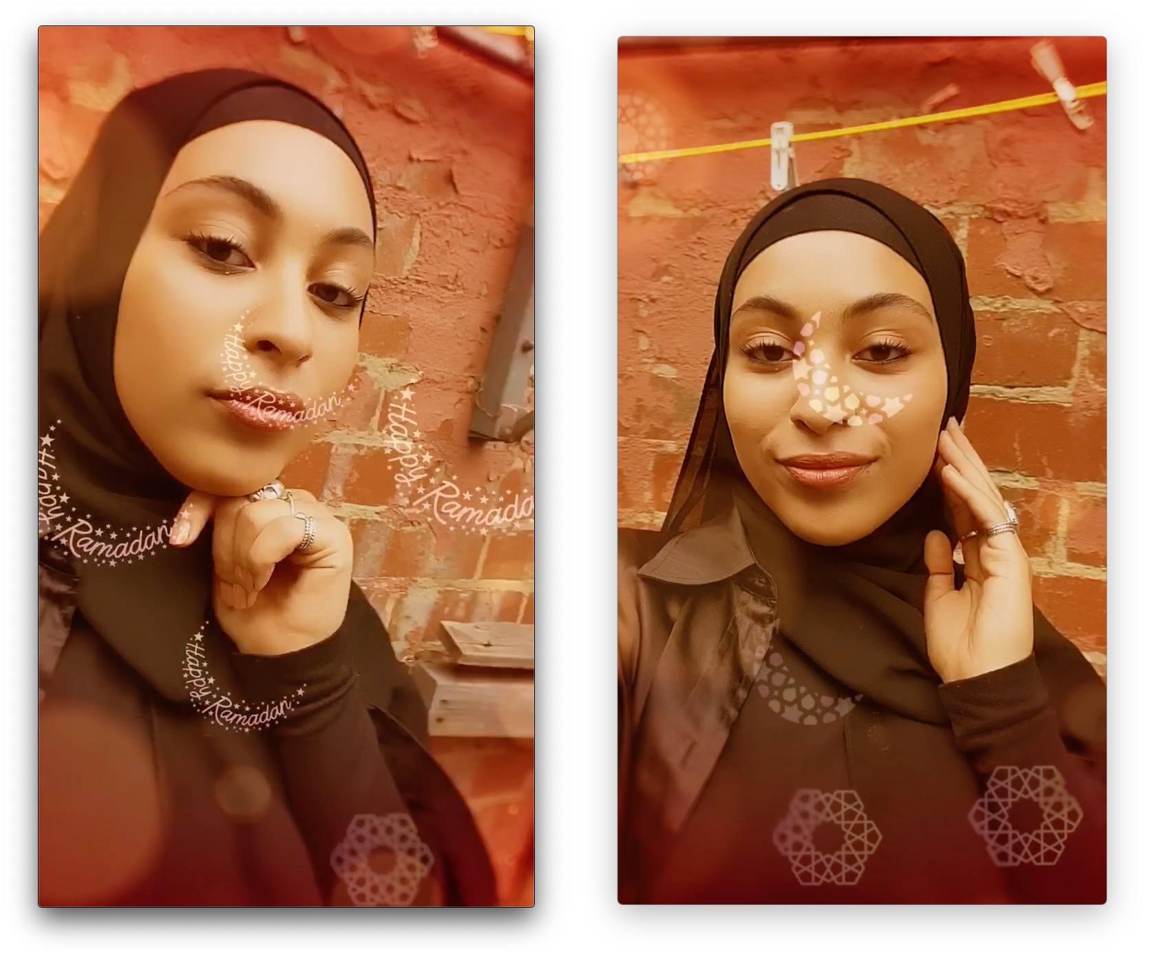 instagram ramazan kamera efektleri