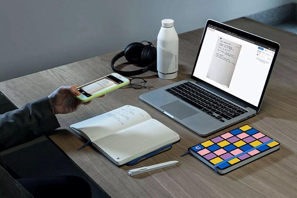 moleskine dropbox smart notebook