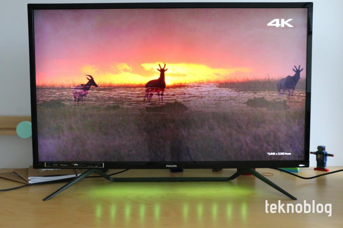 Philips 436M6VBPAB 4K HDR ekran İncelemesi 4