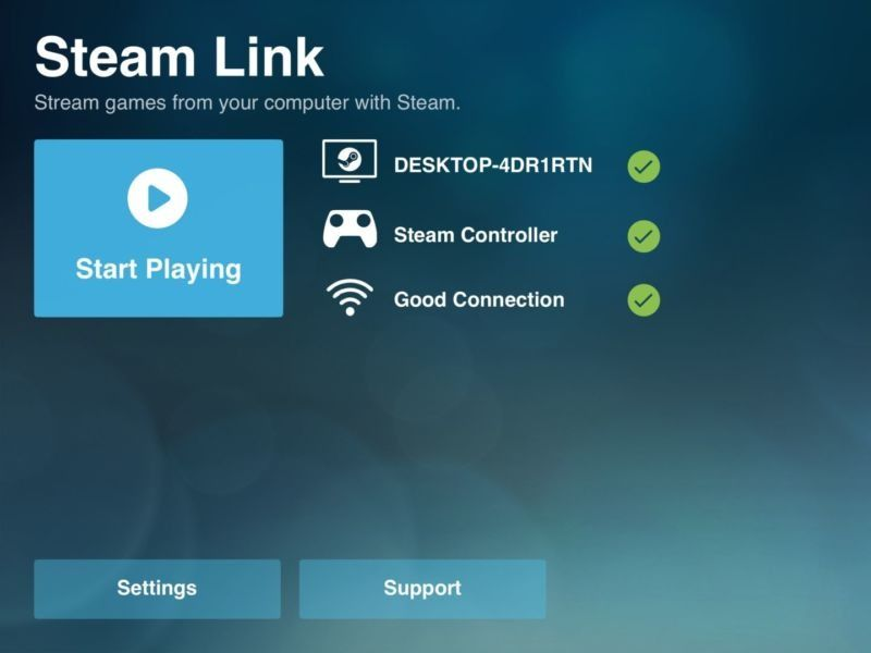 valve steam link macos