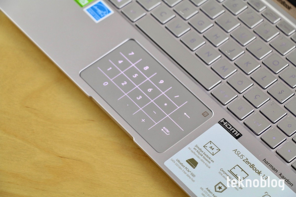 Asus ZenBook 13 UX333F İncelemesi 3