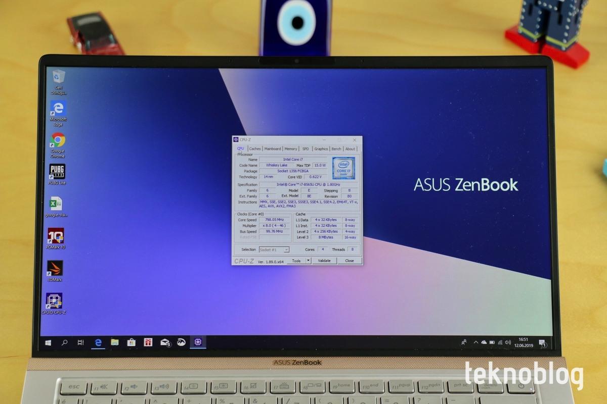 Asus ZenBook 13 UX333F İncelemesi 7