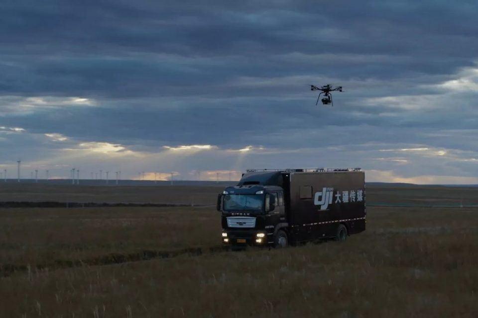 DJI Storm en gelişmiş drone kurulumuyla profesyonellerin hizmetinde