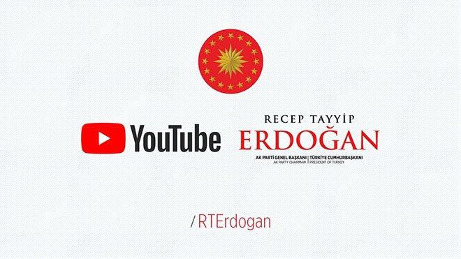 recep tayyip erdoğan youtube
