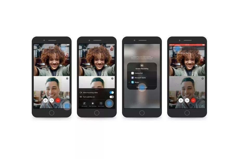 skype ekran paylasimi