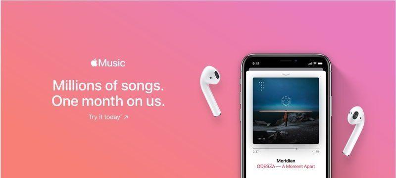 apple music ücretsiz deneme