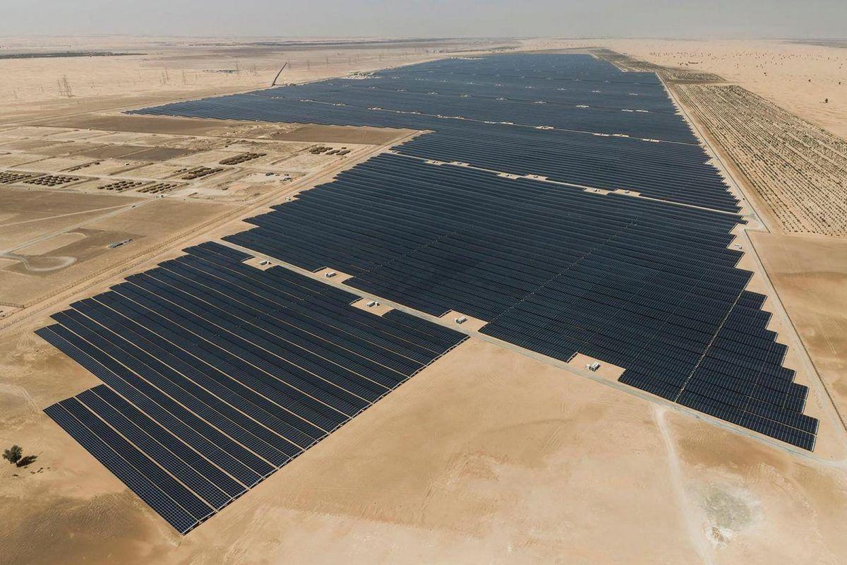 birleşik arap emirlikleri güneş enerjisi santralı