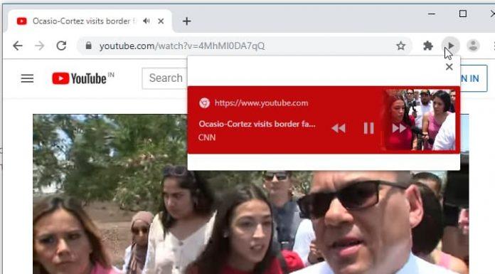 google chrome kuresel medya kontrolleri