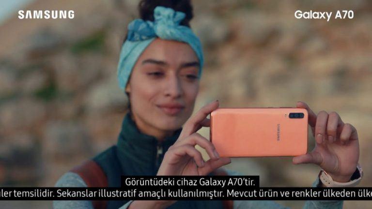 Samsung Galaxy A serisi için hazırlanan reklam filmini izleyin – Video