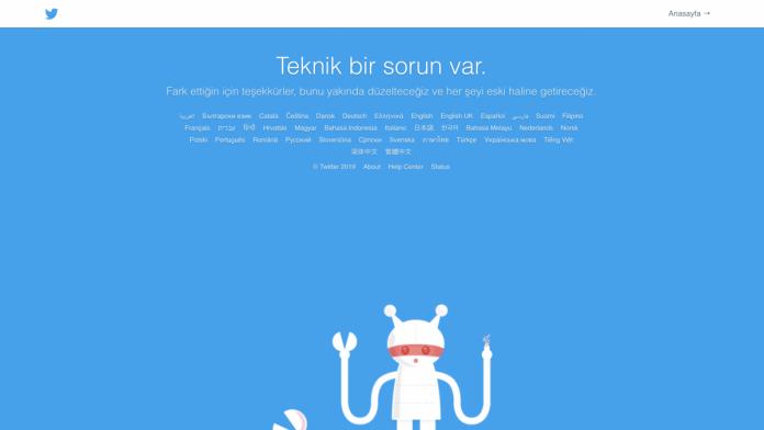 twitter erişim problemi