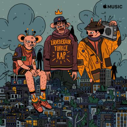 apple music zirvedekiler türkçe rap