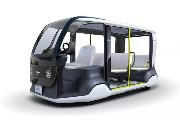 toyota elektrikli araç tokyo 2020