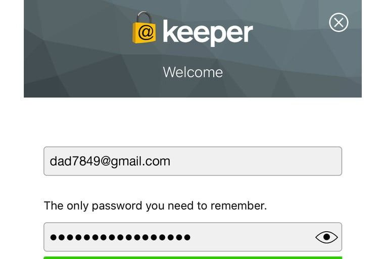 keeper security password manager şifre yöneticisi