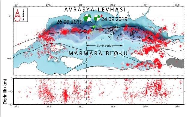 marmara denizi deprem haritası