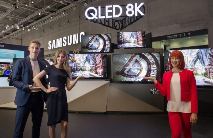 samsung 8k qled tv 5g display