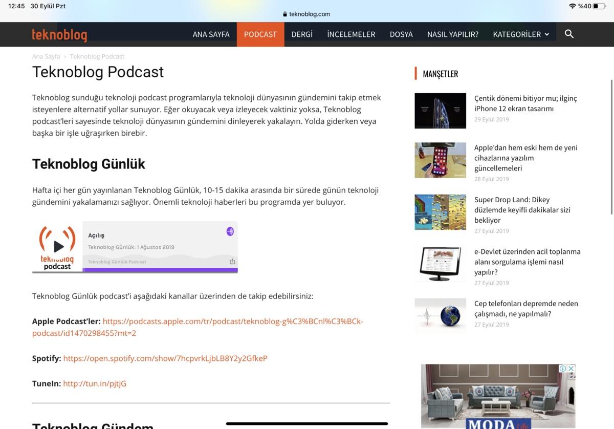 podcast nedir