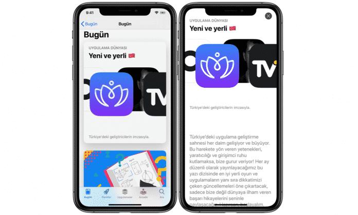app store yeni ve yerli