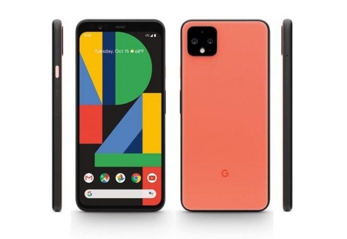 turuncu google pixel 4