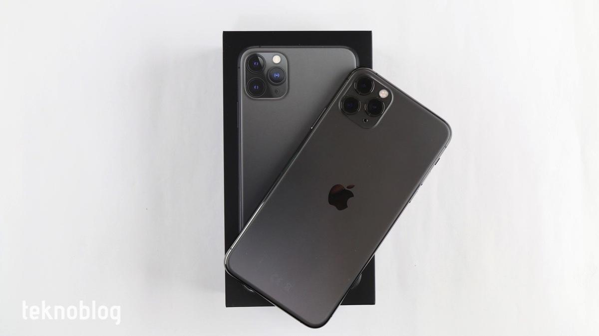 iphone 11 pro max kutu açılımı