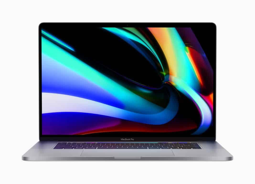 apple 16 inç macbook pro