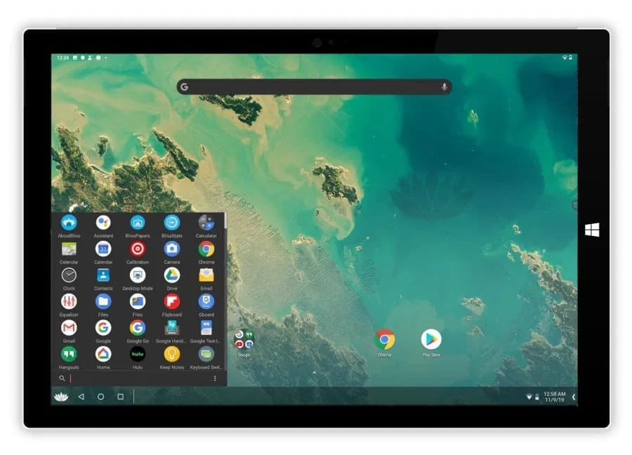 bliss os android 10