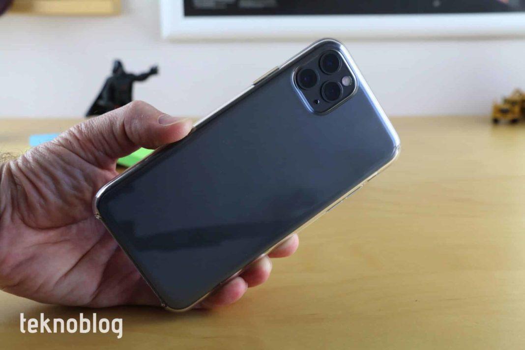 iphone 11 pro max şeffaf kılıf 12