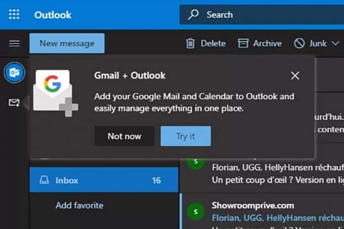 microsoft outlook.com gmail