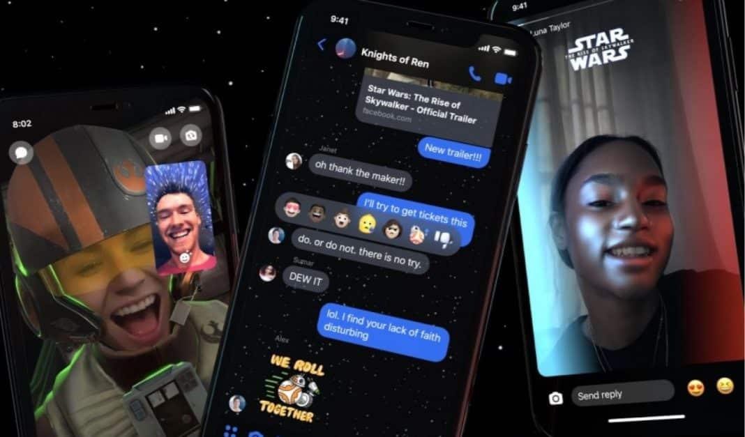facebook messenger star wars
